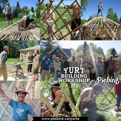Yurt Building Workshop